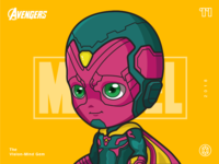 The Avengers-Vision-illustrations