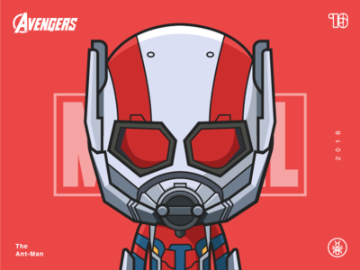 The Avengers-Ant Man-illustrations
