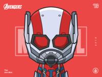 The Avengers-Ant Man-illustrations