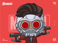 The Avengers-Star Lord-illustrations