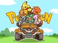Pokémon- illustration