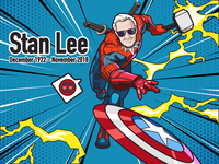 Super Hero-Stan Lee-illustrations