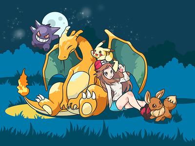 Pokémon- illustration pokemon go pokemon pikachu design illustrations color