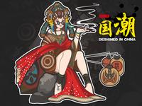 Peking Opera-illustrations