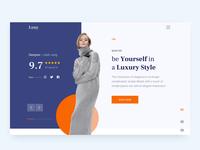 Exploration Fashion Website