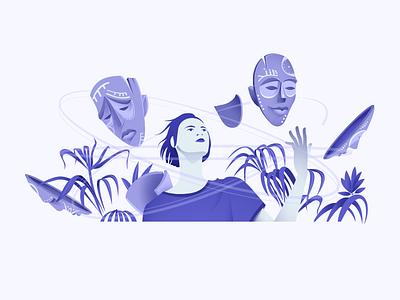 psychology illustration psychology web
