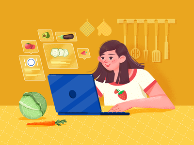 Food And Recipe Illustration