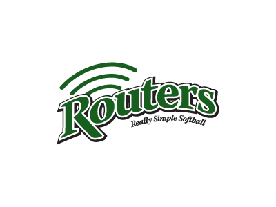 Router logo drib