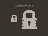 Glyphicon Lock