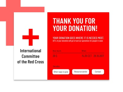 Email Receipt dailyui donation email receipt redcross 017