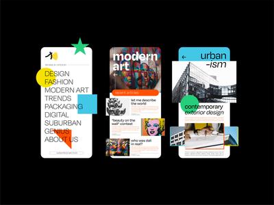 Seemore   Design Blog Application animation app design blog design design app interface app user interface ui ux creative blog blog app seemore