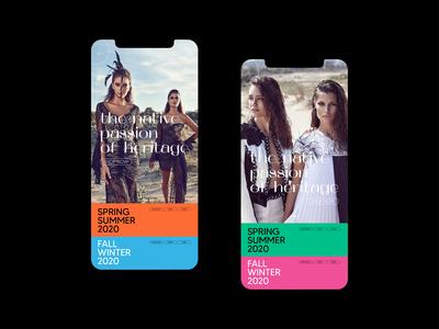 Fashion Application Interface app designer design app design ux ui animation creative seemore ui ux user interface design user interface