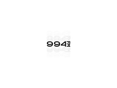 Logo for 994FM logodesign logotype branding design branding vector graphicdesign design logo design logo