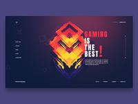 Gamerclub landing page