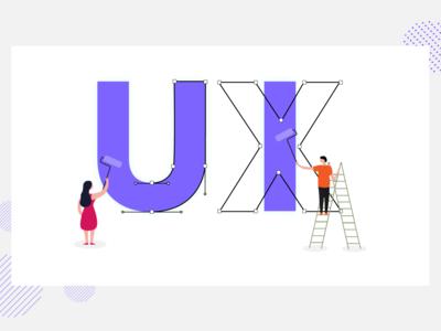 UX/UI Poster