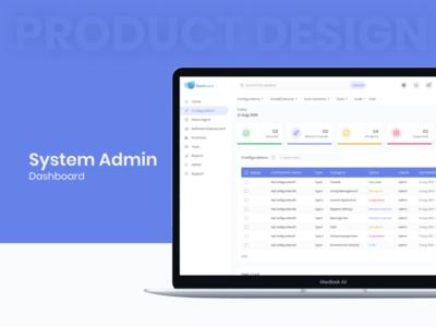 System Admin Dashboard