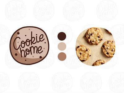 Cookie packaging 1/2 food packaging label bakery brand identity design homemade box cookie lover cookie packaging brand identity branding logo typography food colors design illustrator photoshop digital adobe