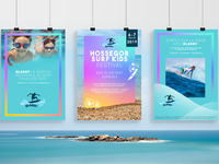Three surf prints