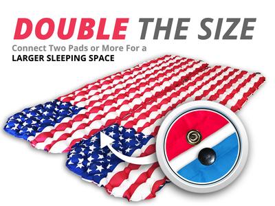 Design for Amazon - Flag Sleeping Pad