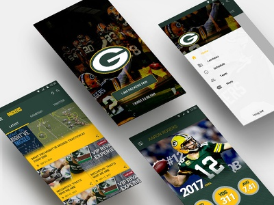 Packers Concept Design App concept android ui app mobile