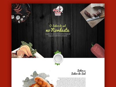 Sausage Handmade Web wordpress ui webdesign