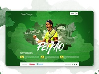 UI Web Design to tennis player