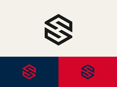 SH monogram practice logo monogram sh