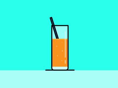 Orange juice vector salva blue illustrator illustration design orange juice
