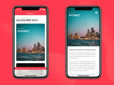 city post #3 travel salva ux ui iphonex green graphism designer design app