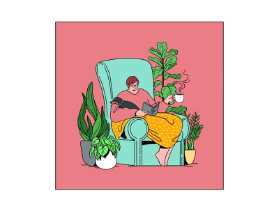 A Mother's Throne graphic branding illustration branding web illustration vector art vector minimal illustration minimal clean 2d flat illustration flat art flat face character design