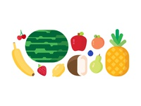 Delicious Fruit Graphics