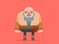 Old Viking Man