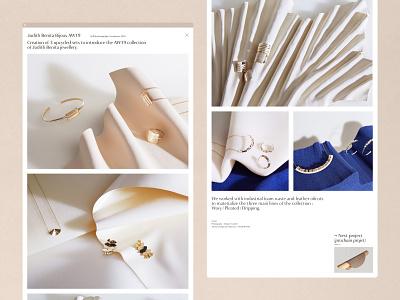 Page Detail STUDiOFOAM typogaphy font setdesign grid luxury photography branding ui website