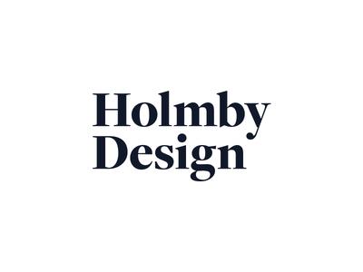 Logo / Holmby Design