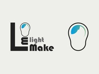 Logo and corporate identity for lightmake
