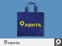 "Redesign of the logo of the hypermarket ""Lenta"""
