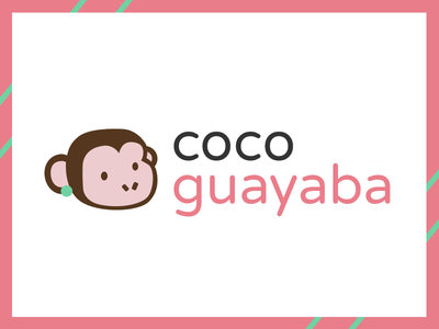 Logo proposal Coco Guayaba brand and identity graphic  design logo