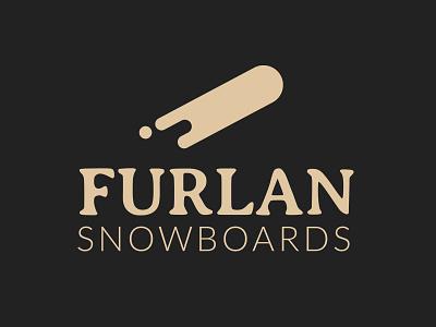 Logo Furlan Snowboards identity branding snowboards furlan logo