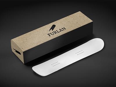 Furlan Snowboards box packaging design identity branding snowboards furlan