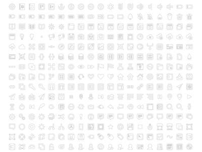 Bordered Batch Icons icons bordered design