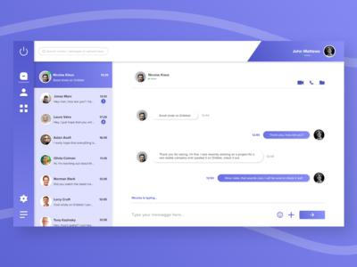 Chat App UI Design
