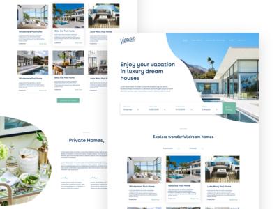 Luxury Hotel Landing page design