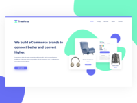 eCommerce Landing page design