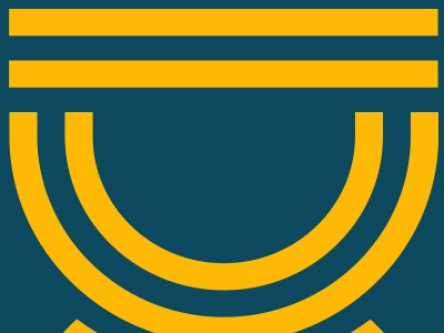 Strong bridge heavy blue yellow lines logo strong