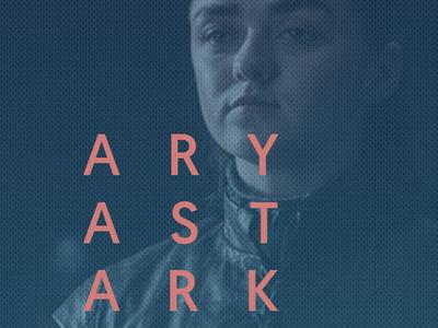 Aryastark dotted gradient d17c78 blue pink color font stark arya