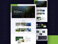 Environmental Management Website Design