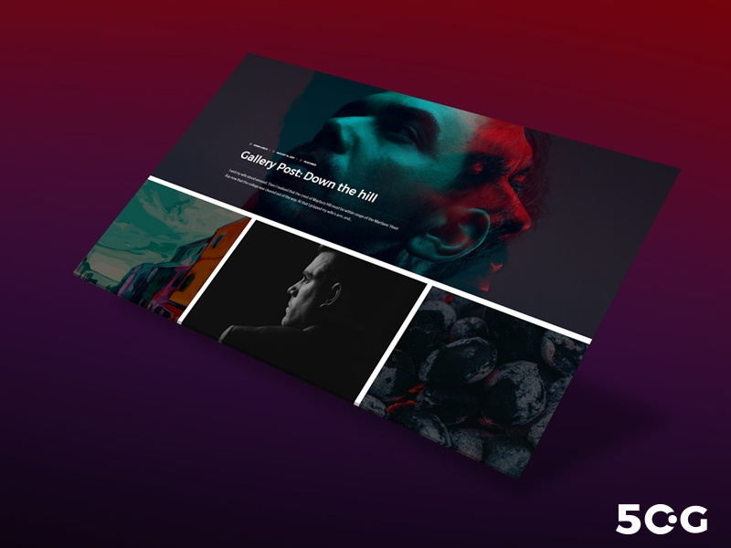 Free Web Presentation Psd Mockup Template by 50 Graphics - Dribbble