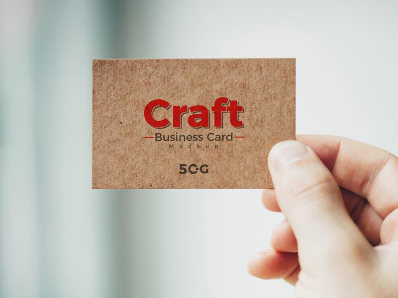 Free Man Holding Craft Business Card Mockup Psd 2018 template psd branding design freebie free mockup mockup psd mockup free mockup business card mockup