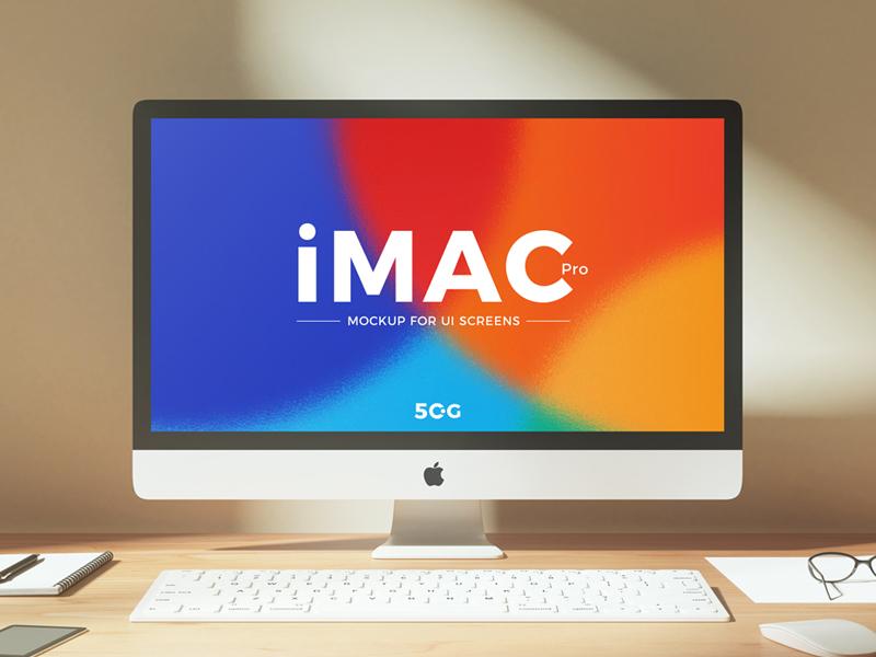 Free iMac Pro Mockup PSD ux ui branding psd freebie free mockup psd free mockup mockup free mockup imac pro mockup