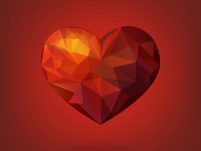 Romb heart